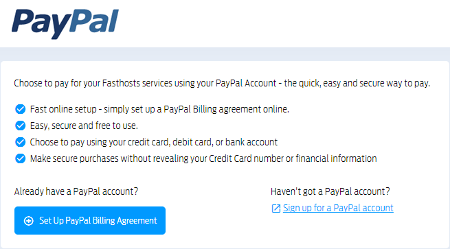 Using Paypal To Make Payments
