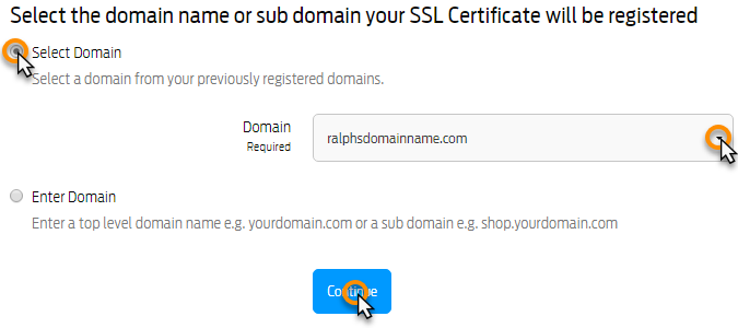 How can I apply for an SSL certificate?