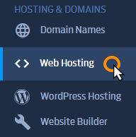 Managing website files using your Fasthosts control panel