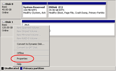 Identifying additional storage drives on a Windows Virtual