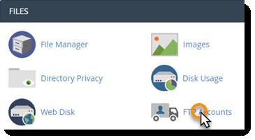 FTP Accounts Icon