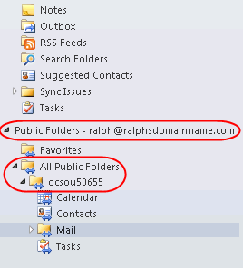 Setup Public Folders on Exchange 2013 mailboxes