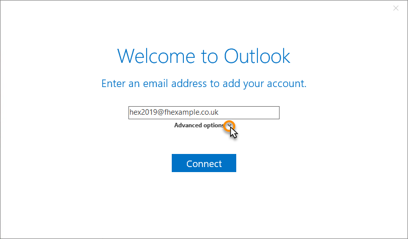Outlook 8 setup for Exchange 8 mailboxes