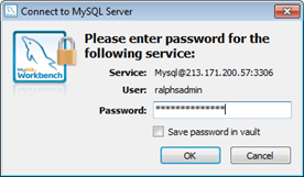 Back up and restore MySQL databases using MySQL Workbench 5
