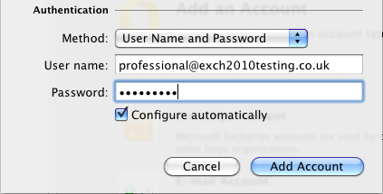 Authentication Settings