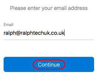 Setting up your Office 365 mailbox in Outlook 2016 for Mac