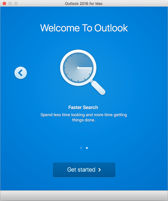 Outlook 2016 for Mac Setup for Exchange 2013 mailboxes