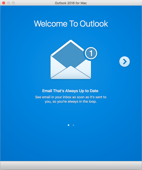 Outlook 2016 for Mac Setup for Exchange 2019 Mailboxes
